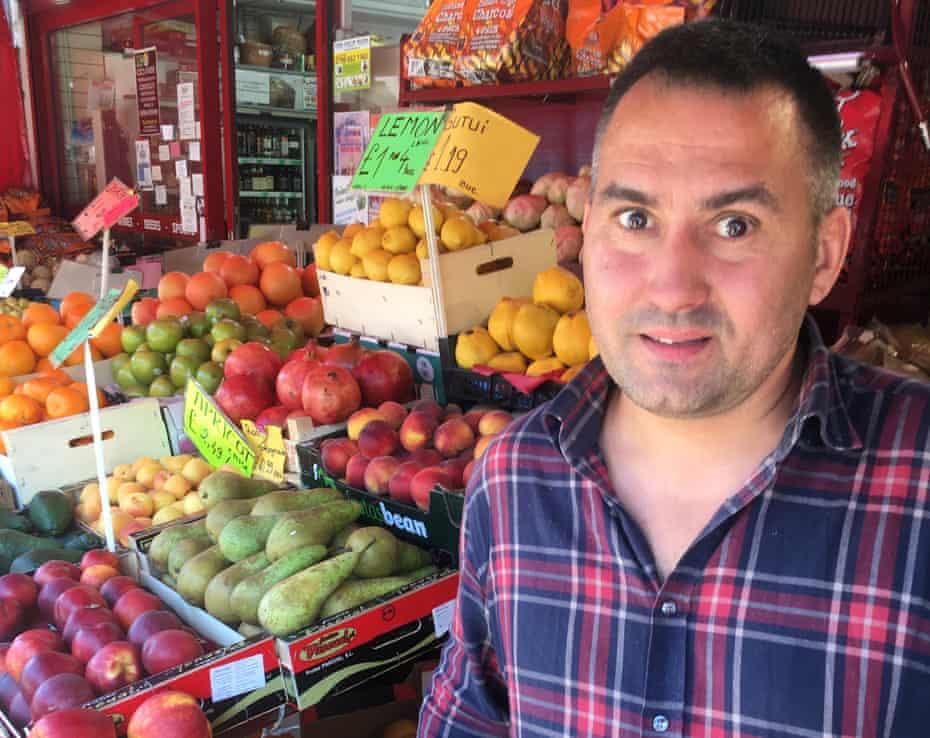 Sîrbu Tiberius, 46, a shop worker in Burnt Oak, London