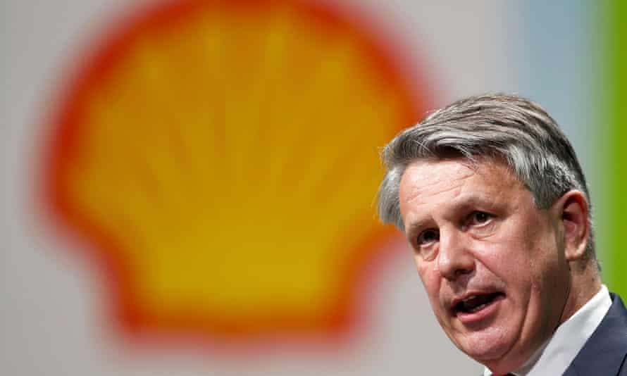 The Royal Dutch Shell CEO, Ben van Beurden