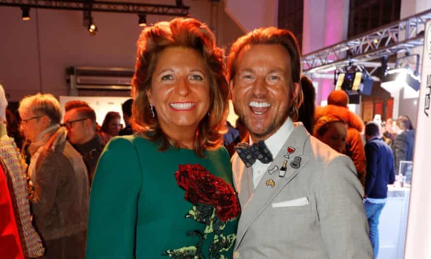 Babette Albrecht and Sandro Rath