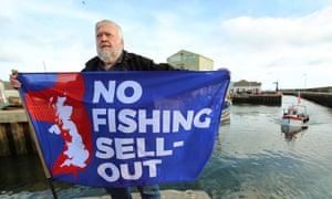 Charlie McBride, 65, worries Kilkeel fishermen won't get what they were promised.