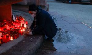 A memorial for Covid victims in Berlin