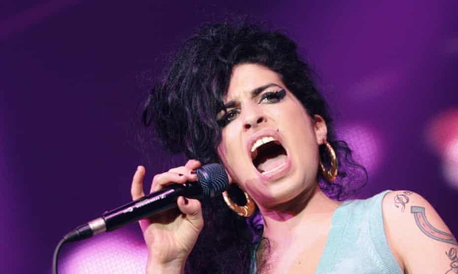 Amy Winehouse in 2006.
