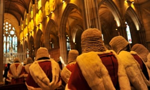 A Red Mass event at St Mary's cathedral