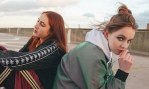 Uncanny and piercing … Rosa Walton, left, and Jenny Hollingworth of Let's Eat Grandma.