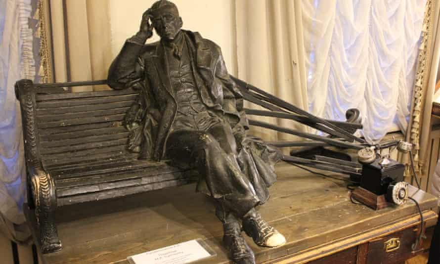 Bulgakov statue model