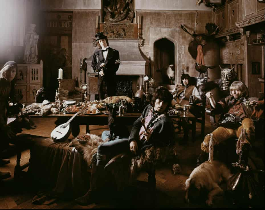 Fill your boots … Michael Joseph's shot of the Rolling Stones for the Beggars Banquet album, released in 1968.