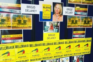 """The """"Wall of Brigid"""". Image taken at Brigid Delaney's old school when she visited in 2019."""