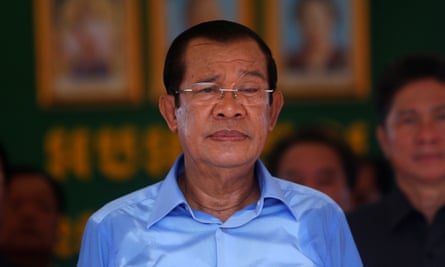 Hun Sen, a former member of the Khmer Rouge, has been in power since 1985.