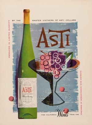A 1952 ad for Asti wine