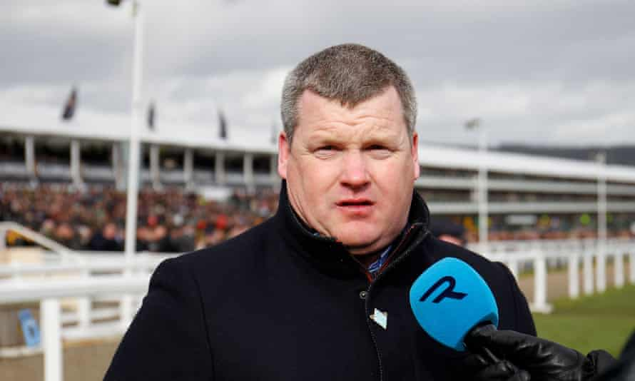 """Gordon Elliott said Vyta Du Roc had been given """"to another rider as requested by its owner""""."""