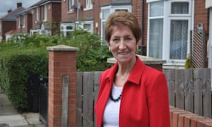 Norma Redfearn, who steps down in May as mayor of North Tyneside.