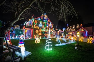 Christmas Lights On Houses.The Most Festive Houses In Britain In Pictures Life And