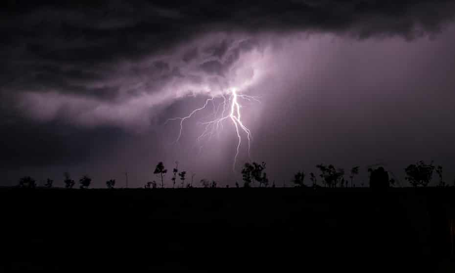 Storm chasing in Northern Territory
