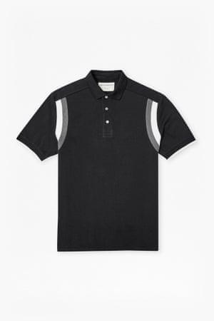 Graphic polo shirt