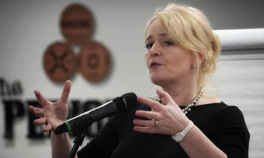 Sharon Graham, the new general secretary of  Unite