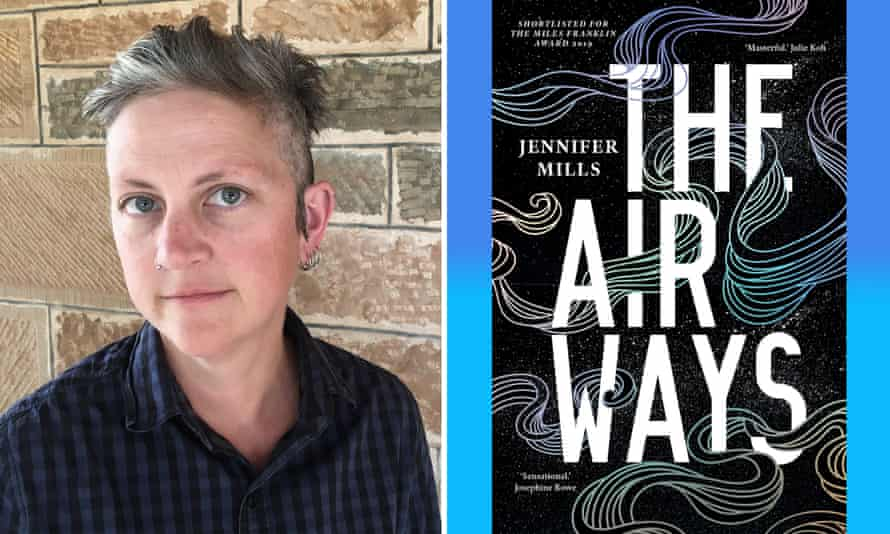 Australian author Jennifer Mills and her new book, The Airways.