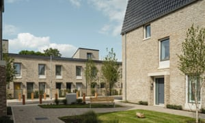 The street won the annual Stirling prize ahead of a field of nominees including a house built from cork in Berkshire and a 'hi-tech and futuristic' distillery in Scotland.