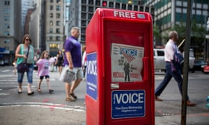 The Village Voice ceased to be a print publication last year but is now closing completely.