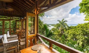 'A veritable paradise': peaceful Kanopi House, above the Blue Lagoon three hours north of Kingston.