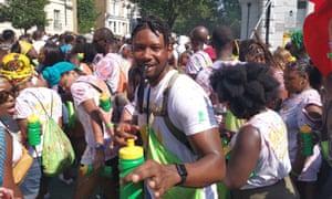Kenyon at Notting Hill carnival