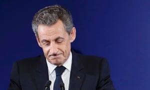 Nicolas Sarkozy, the former French president