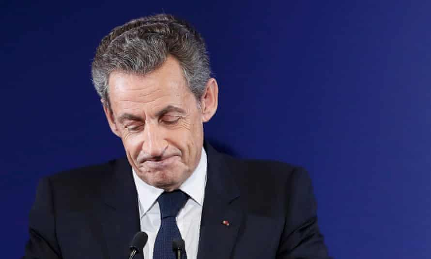 Nicolas Sarkozy, the former French president