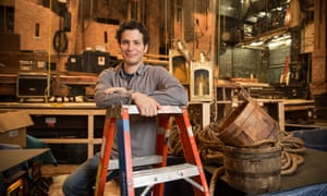 Thomas Kail, the Hamilton director, pictured at the Richard Rodgers theatre in New York City.