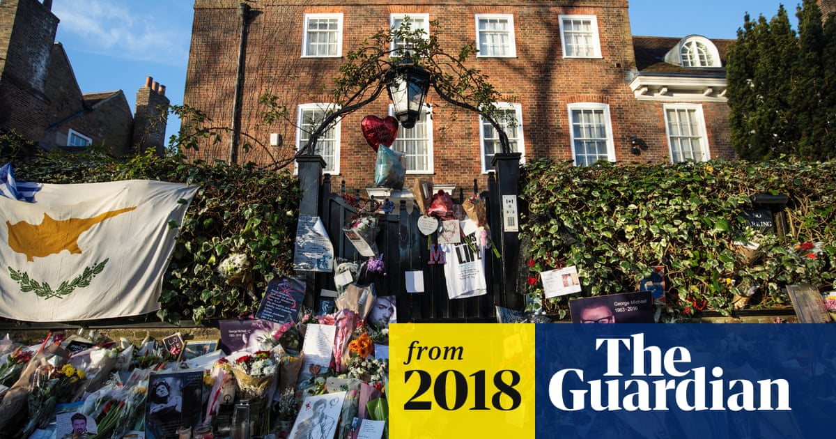 George Michael Fans Asked To Take Down Tributes By Family George Michael The Guardian,Small Space Small Built In Cabinets Bedroom