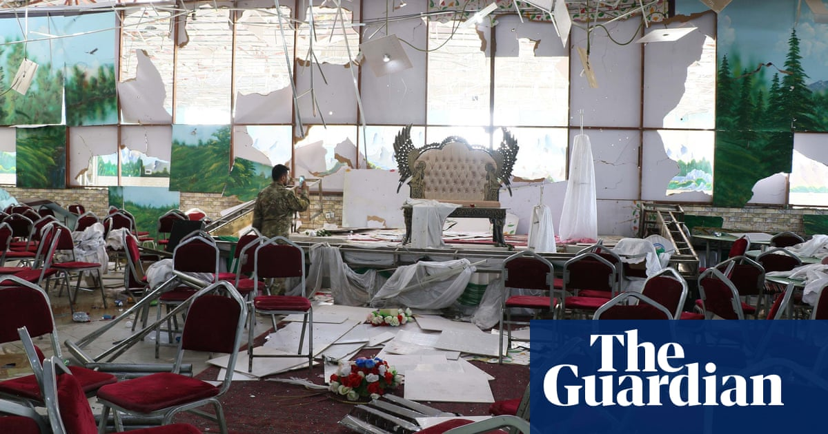 Islamic State claims responsibility for Kabul wedding hall