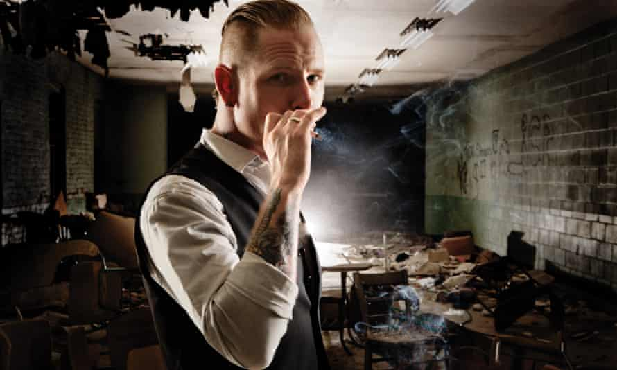 Corey Taylor of Slipknot.