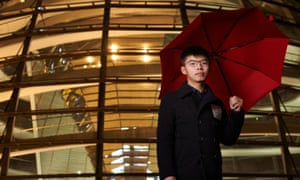 Joshua Wong's first campaign fought a government attempt to introduce 'moral and national education' into schools.