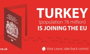 Vote Leave campaign poster