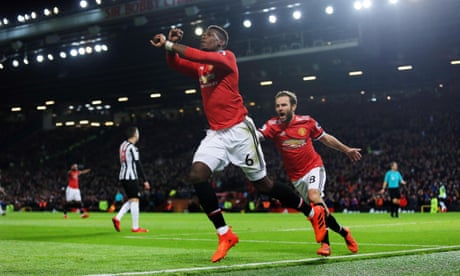 Manchester United's Paul Pogba returns in style to cut down Newcastle
