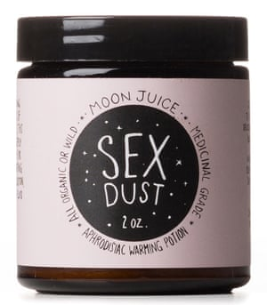 Sex Dust by Goop: 'a warming elixir' with 'ancient ingredients'.