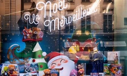 A toy shop window in Paris
