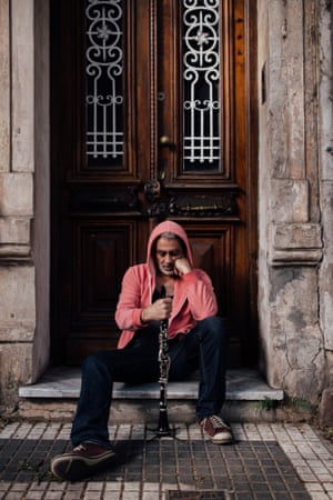 Argentinian musician Daniel Melingo photographed at home in Buenos Aires, from where he spoke to The Observer about his resuscitation of tango for the rap generation