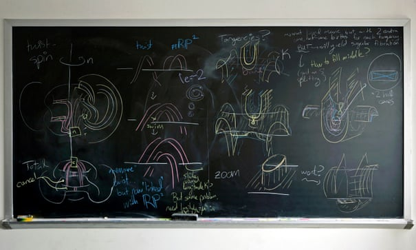 Why mathematicians just can't quit their blackboards