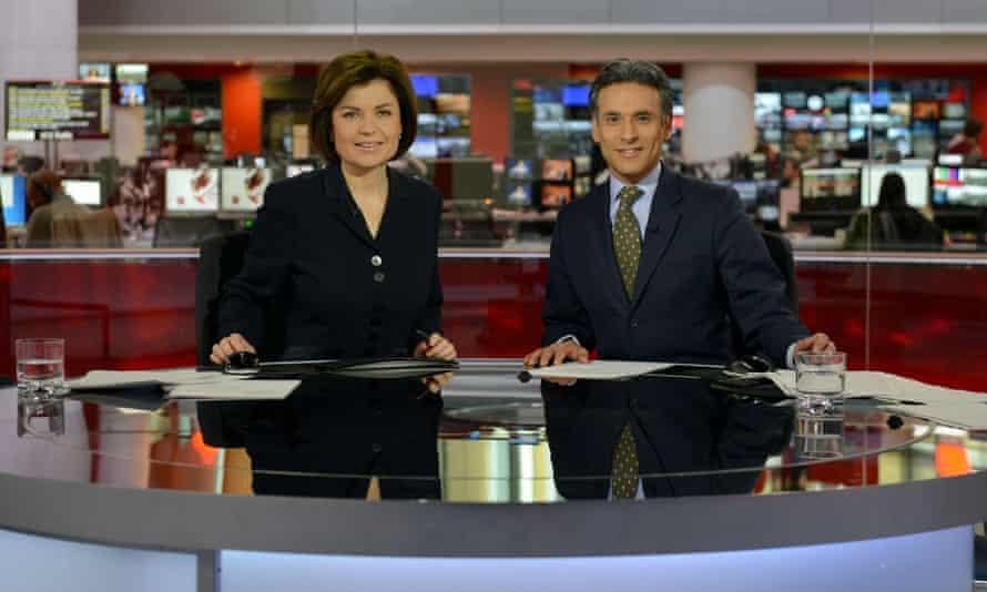 Jane Hill and Matthew Amroliwala on BBC News.