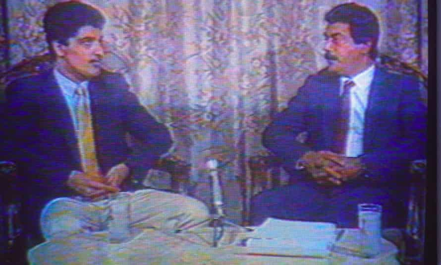 The Iraqi TV video of Farzad 'confessing' to spying for Israel in 1990