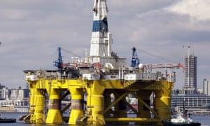 A Royal Dutch Shell rig