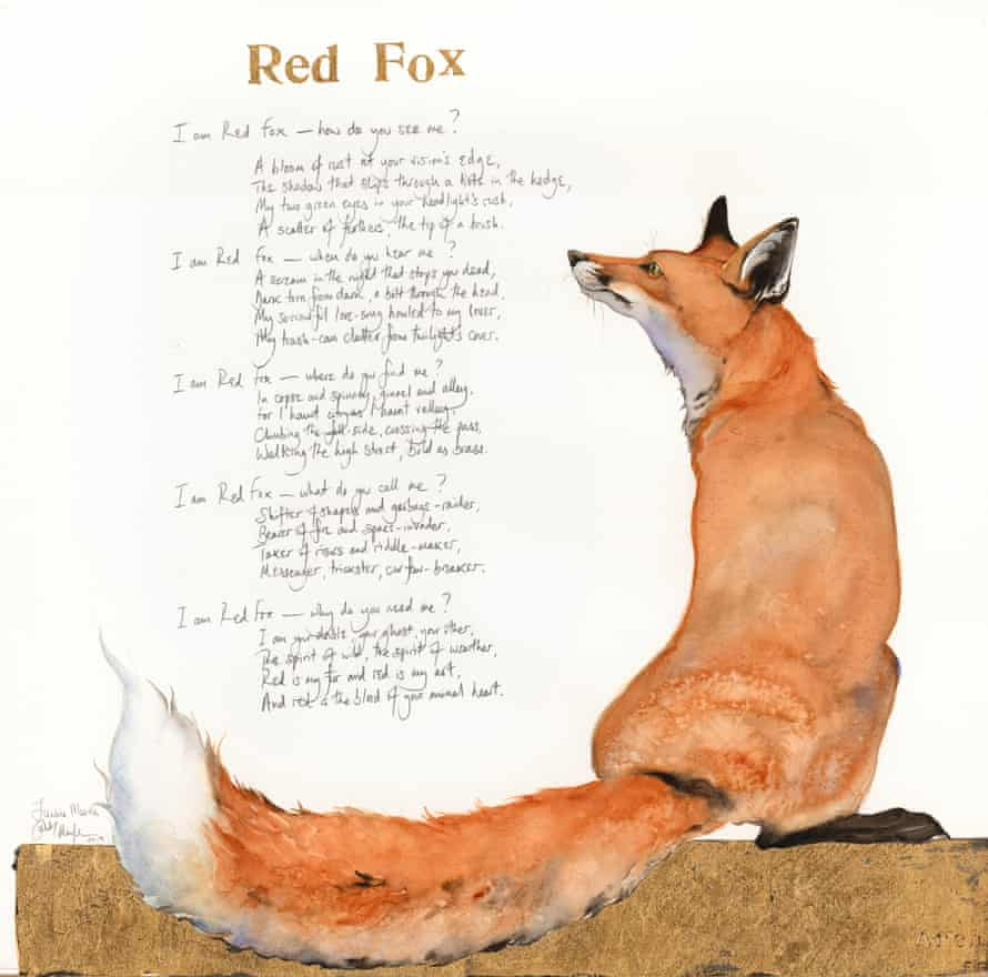 Jackie Morris will paint a fox live at the Lost Words prom.