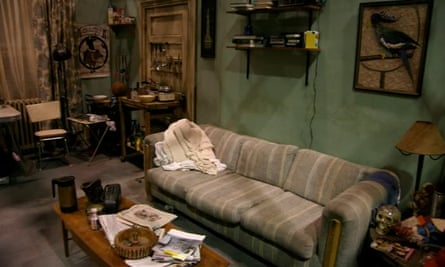 Frank and Charlie's apartment in It's Always Sunny in Philadelphia.