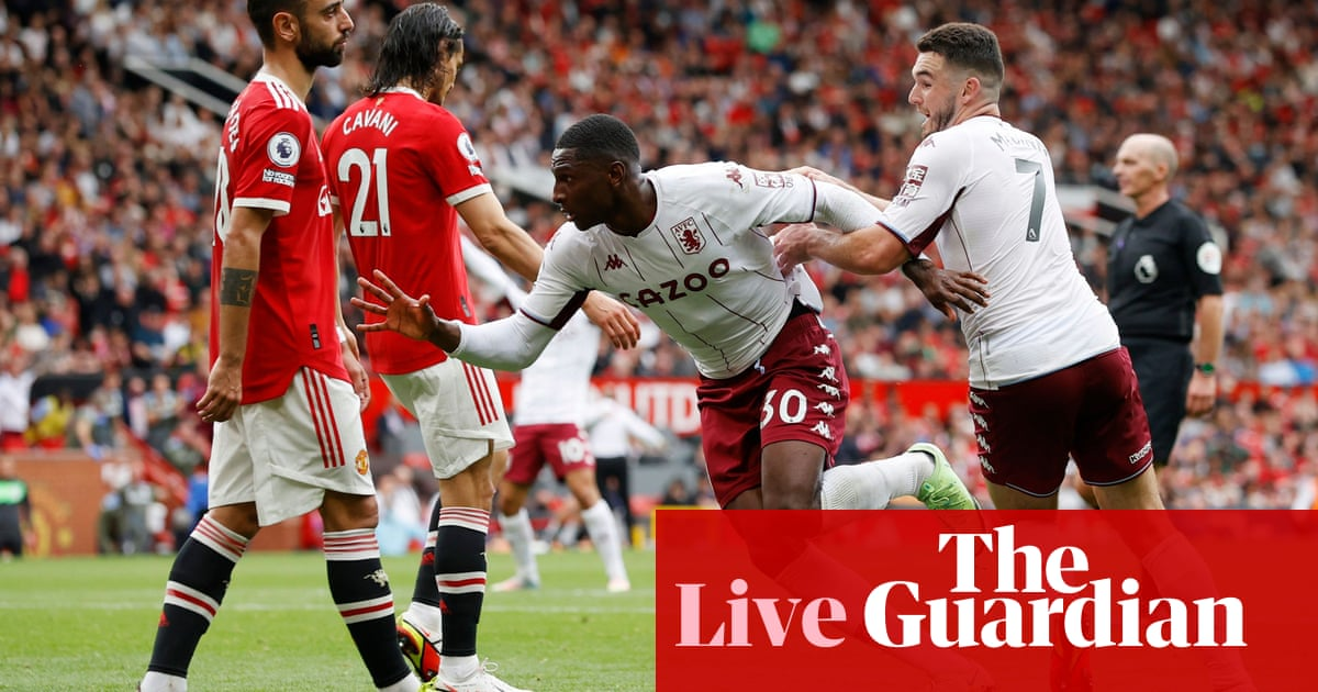 Manchester United 0-1 Aston Villa and more: football clockwatch – live!
