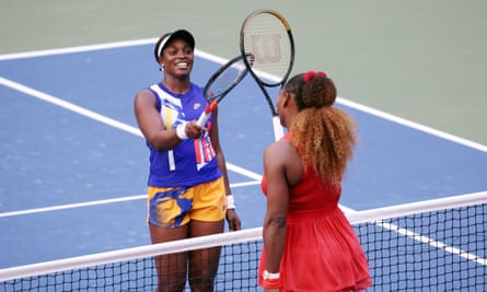 Serena Williams came through a tough test against Sloane Stephens in the third round.