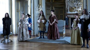 All the king's ladies … Versailles.