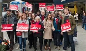 Labour activists in Wandsworth, April 2018.