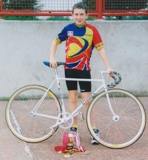 Geraint Thomas in 1999