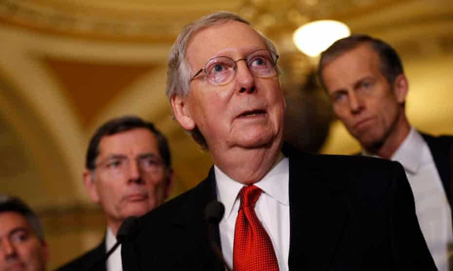 Mitch McConnell said the stream rule in question 'unfairly targets coal jobs'.