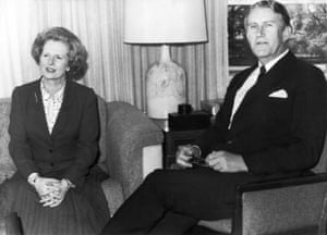 The Australian Prime Minister with British Prime Minister Magaret Thatcher at Parliament House in Canberra in 1979. Fraser, who was Australia's 22nd prime minister, held the position from 1975 to 1983.