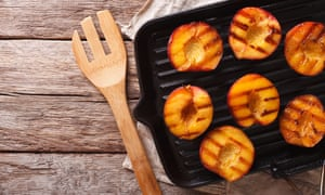 Concentrated flavour … there is nothing like a roasted or grilled peach.